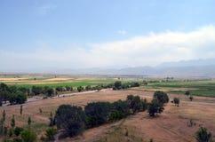 Valle de Chu, Kirguistán Fotografía de archivo
