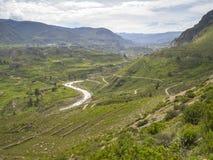 Valle de Colca, Arequipa, Perú. imagen de archivo libre de regalías