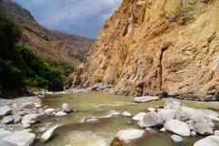 Valle de Colca, Perú imagen de archivo