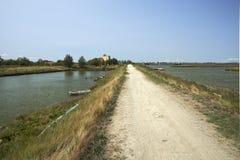 Valle de Comacchio Fotos de archivo