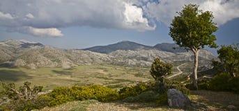 Valle de Crete Fotografía de archivo libre de regalías
