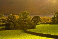 Valle de Cumbrian Foto de archivo libre de regalías