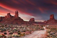 Valle de dioses Fotos de archivo