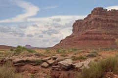 Valle de dioses, Utah Foto de archivo libre de regalías