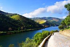 Valle de Douro en Portugal Foto de archivo libre de regalías