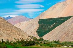 Valle de Elqui Imagen de archivo libre de regalías