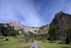 Valle de Engelberg imagen de archivo libre de regalías