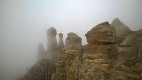 Valle de fantasmas Fotografía de archivo libre de regalías