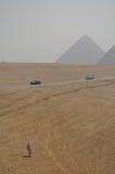 Valle de Giza - beduino Imágenes de archivo libres de regalías