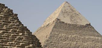 VALLE DE GIZA EN EGIPTO Imagen de archivo libre de regalías
