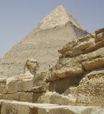 VALLE DE GIZA EN EGIPTO Fotografía de archivo
