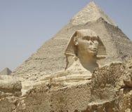 VALLE DE GIZA EN EGIPTO Imágenes de archivo libres de regalías