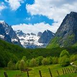 Valle de Grbaja fotografía de archivo libre de regalías