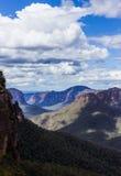 Valle de Grose en las montañas azules Australia Imagenes de archivo