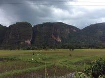Valle de Harau Imagenes de archivo