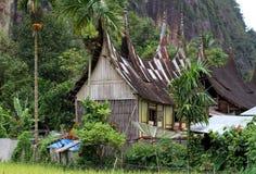 Valle de Harau en Sumatra del oeste, Indonesia foto de archivo libre de regalías