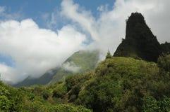 Valle de Iao Imagen de archivo libre de regalías