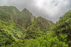 Valle de Iao Imagenes de archivo