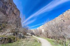 Valle de Ihlara Turquía Foto de archivo