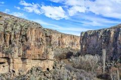 Valle de Ihlara Turquía Foto de archivo libre de regalías