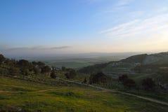 Valle de Israel Imagen de archivo libre de regalías