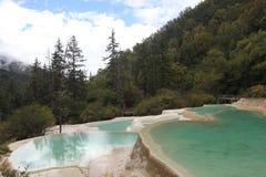 Valle de Jiuzhai Fotos de archivo libres de regalías