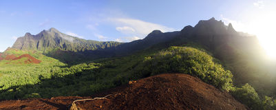 Valle de Kalalau Foto de archivo