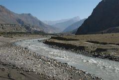 Valle de Kali Gandaki Fotografía de archivo