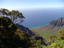 Valle de Kauai Fotografía de archivo libre de regalías