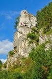 Valle de Kobylanska en Polonia foto de archivo libre de regalías
