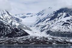 Valle de la bahía de glaciar Fotos de archivo libres de regalías