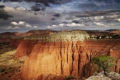 Valle de la catedral, Utah, los E.E.U.U. Fotos de archivo