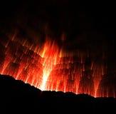 Valle de la erupción Fotografía de archivo libre de regalías