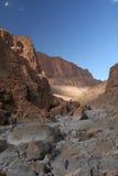 Valle de la garganta de Todra en Marruecos Foto de archivo libre de regalías