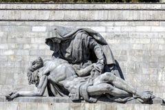 Valle de la haber caído, Madrid imagen de archivo