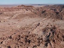 Valle de la luna Fotografía de archivo libre de regalías