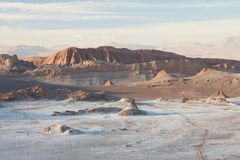 Valle de la luna imagen de archivo libre de regalías