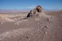 Valle de la luna, Atacama, Chile Fotos de archivo libres de regalías