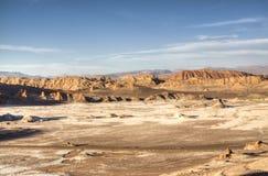 Valle de la Luna. In the Atacama desert in Chile Stock Photography