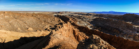 Valle de la Luna, Atacama Desert, Chile Royalty Free Stock Photo