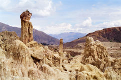 Valle de la Luna, Bolivia Royalty Free Stock Photos