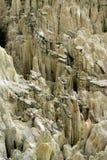 Valle de la Luna, Bolivia. Details of erosion in the Valle de la Luna, near La Paz, Bolivia Stock Photography