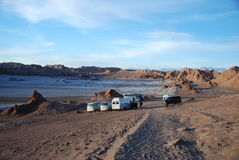 Valle-De-La Luna, Chile Lizenzfreies Stockbild