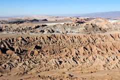 Valle de la Luna, Chile Stock Photography