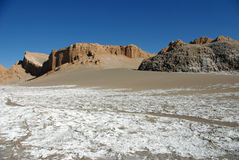 Valle de la Luna, Chile Royalty Free Stock Photography