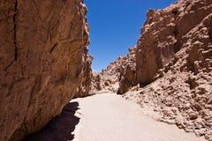 Valle-De-La Luna in Chile/in Atacama lizenzfreie stockbilder