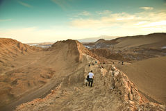 Valle de la Luna, Chile Stock Photography