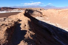 Valle de la Luna chile Royalty Free Stock Images