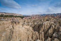 Valle de la Luna in La Paz,Bolivia Stock Photos