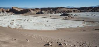 Valle-De-La Luna Moon Valley in Atacama-Wüste nahe San Pedro de Atacama, Antofagasta - Chile lizenzfreie stockfotografie